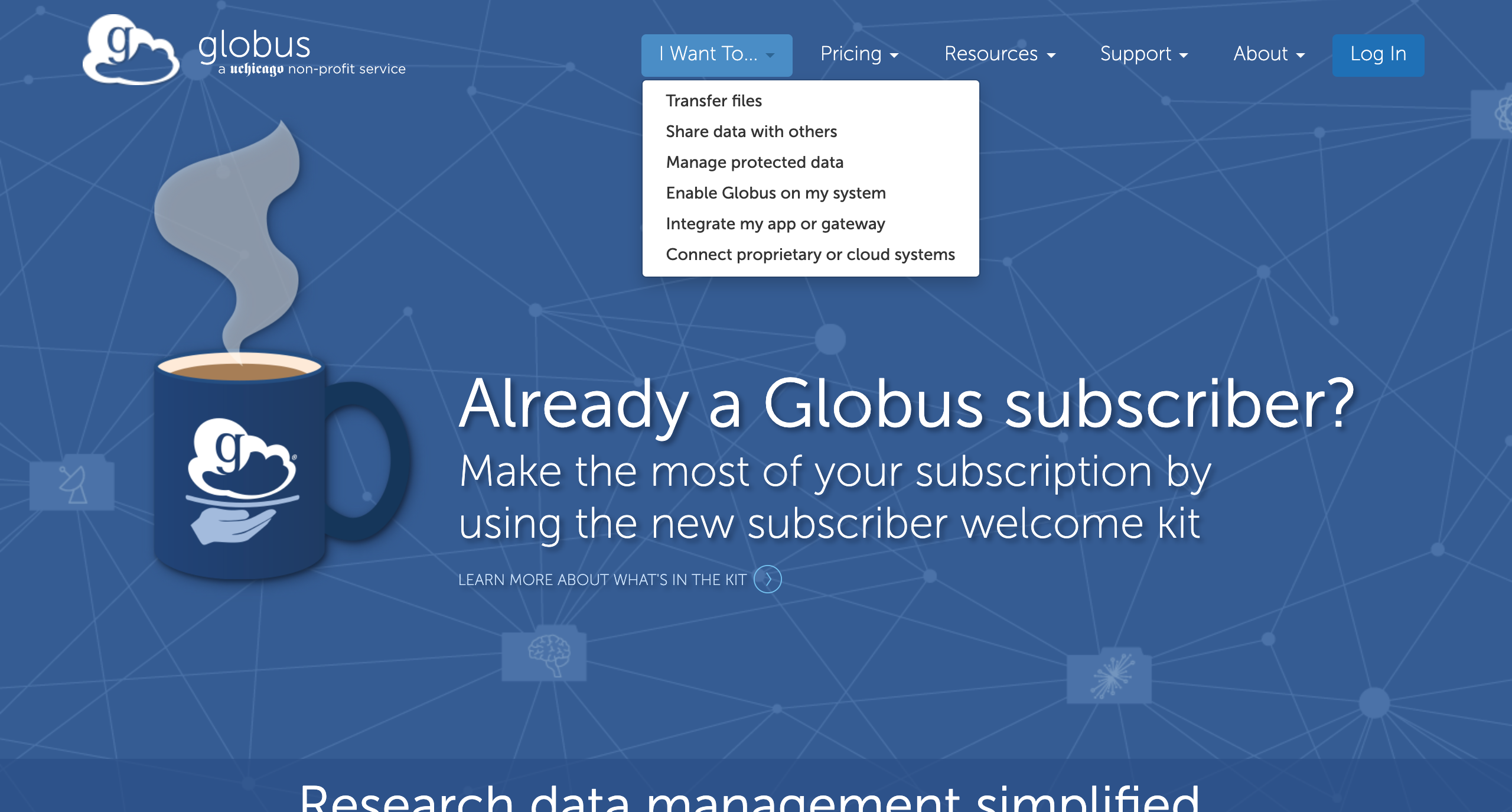 getting_started/images/globus-home-page.png